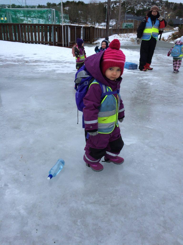 Skli på isen tur for Edderkoppan