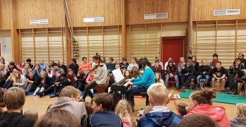 DKS-besøk for ungdomstrinnet 20.09