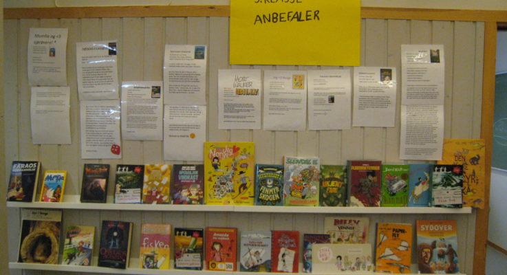 Nyheter i skolebiblioteket