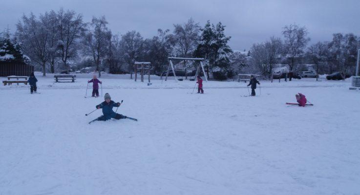 Alle ut på ski