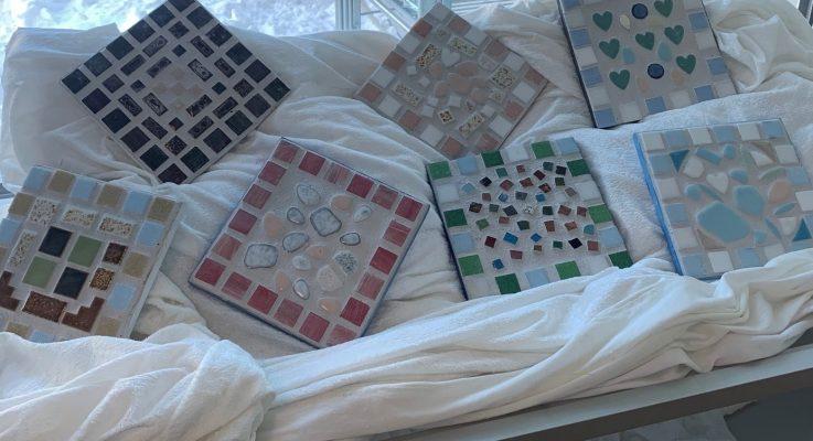 Kunst og håndverk 9A – Mosaikk