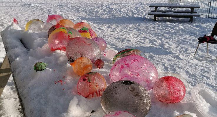Bilder fra vinterlige aktiviteter i 1.-2.trinn.